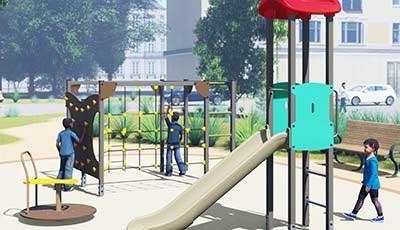 Beispiele für Spielplätze